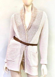 Fabiana Filippi Wool Knit Cardigan