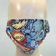 Face Mask - Light Blue/Multi