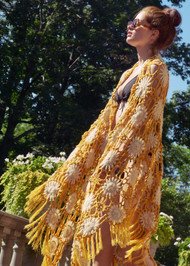 Hania Sunflower Shawl