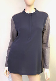 Fabiana Filippi Contrasting Long Sleeve Top