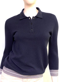 Fabiana Filippi Long Sleeve Cashmere Top