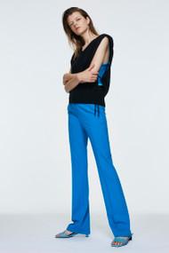 Dorothee Schumacher Essence Pants in Deep Turquoise