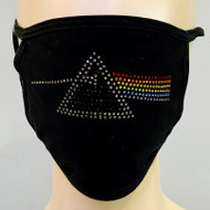 Rhinestone Embellished Mask - Dark Side of the Moon