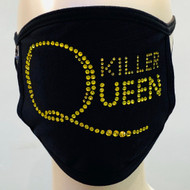 Rhinestone Embellished Mask - Killer Queen