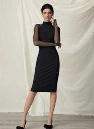 *TRUNK SHOW* Chiara Boni La Petite Robe Maylys Illusion Dress
