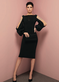 *TRUNK SHOW* Chiara Boni La Petite Robe Nala Illusion RC Dress