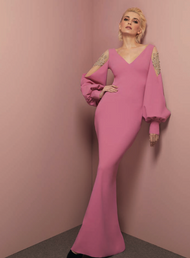 *TRUNK SHOW* Chiara Boni La Petite Robe Nala Illusion RC Long Dress