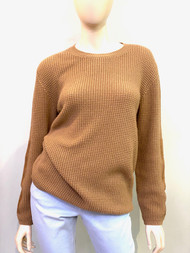 Ralph Lauren Cashmere Sweater with Suede Elbow Patches