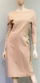 Lela Rose ¾ Length Sleeve Dress