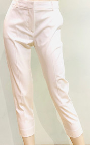 Max Mara Pau Cropped Pants in Ivory