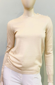 Max Mara Caraibi Sweater in Ivory