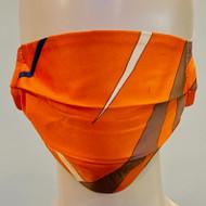 Face Mask - Orange/Multi