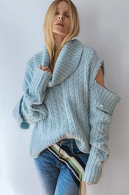 *PRE-ORDER* Hellessy Eniko Sweater in Aqua