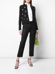 Carolina Herrera Embellished Cardigan in Black