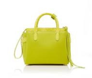 *TRUNK SHOW* Nancy Gonzalez Mini Cristie Bag in Neon Yellow