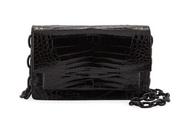 *TRUNK SHOW* Nancy Gonzalez Eden Crossbody Bag in Shiny Black