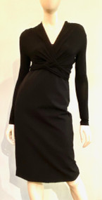 Max Mara Twisted Derrik Dress in Black