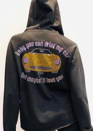 Rhinestone Embellished Jacket