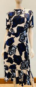Marni Rose Printed Dress