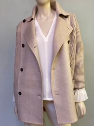 Max Mara Camera Knit Cashmere Blend Coat