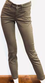 MAC Dream Slim Jean in Moss Green