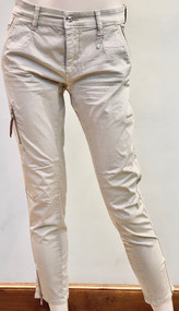 MAC Rich Cargo Cotton Pants in Beige