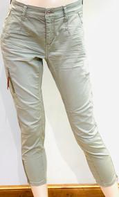 MAC Rich Cargo Cotton Pants in Sage