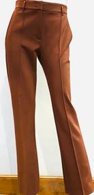 Dorothee Schumacher Emotional Essence Pants in Dark Chestnut