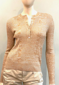 Marni Textured Knit Top in Winter Wheat