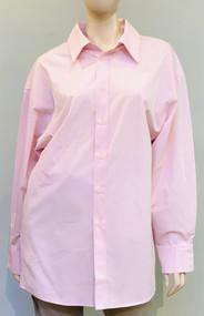 Marni Back V-neck Shirt in Light Rose