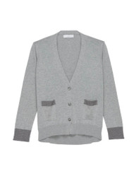 *PRE-ORDER* Fabiana Filippi Cotton Cardigan with Metallic Trim
