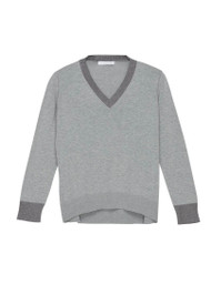 *PRE-ORDER* Fabiana Filippi Cotton Sweater with Metallic Trim