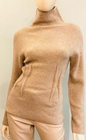 Altuzarra Loretta Ribbed Knit Sweater in Ammonite Melange