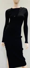 Altuzarra Evelyn Knit Dress in Black