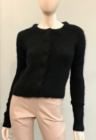 Altuzarra Alberta Knit Cardigan in Black
