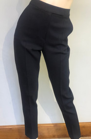 Max Mara Villar Wool Straight Leg Pants