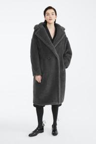 Max Mara Teddy Bear Coat in Grey