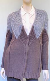 Fabiana Filippi Color Block Embellished Knit Cardigan