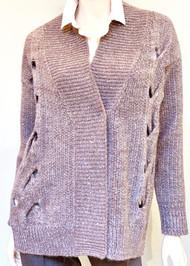 Fabiana Filippi Open Cable Knit Stitch Cardigan