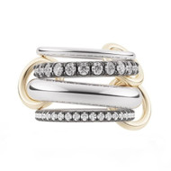 Spinelli Kilcollin Cassini White Gold 4 Link Ring