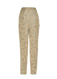 *TRUNK SHOW* Fabiana Filippi Slim Fit Straight Leg Brocade Pants
