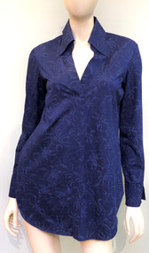 Chiara Boni La Petite Robe Flower Shadow Blue Atena Top