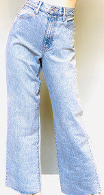 SLVRLAKE Grace High Rise Wide Leg Jeans in Time to Go