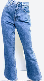 SLVRLAKE Charlotte High Rise Bootcut Jeans in Pacific
