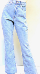 SLVRLAKE Charlotte High Rise Bootcut Jeans in Clear Skies