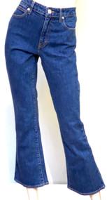 SLVRLAKE Crystal Mid Rise Slim Flared Jeans in Western Hero