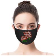 *PRE-ORDER* Rhinestone Embellished Mask - Roses