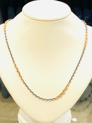 """*TRUNK SHOW* Sylva & Cie. 24"""" Gold and Silver Chain"""