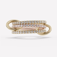 *PRE-ORDER* Spinelli Kilcollin 18K Rose and Yellow Gold Aurora 3 Link Ring