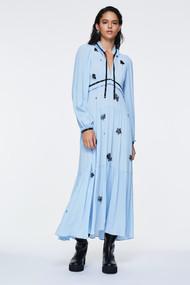 Dorothee Schumacher Fantasy Moment Dress in Fresh Blue